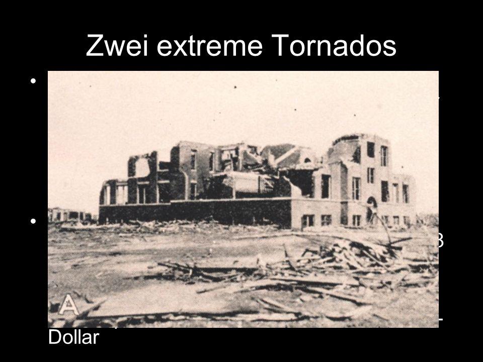Zwei extreme Tornados