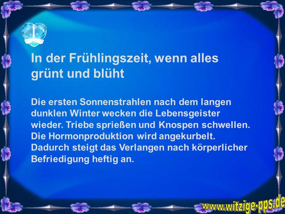 www.witzige-pps.de In der Frühlingszeit, wenn alles grünt und blüht