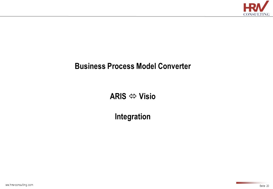 Business Process Model Converter ARIS  Visio Integration