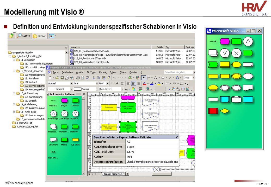 Modellierung mit Visio ®