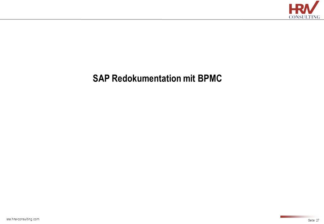 SAP Redokumentation mit BPMC
