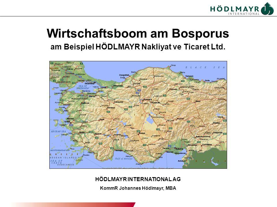 Wirtschaftsboom am Bosporus
