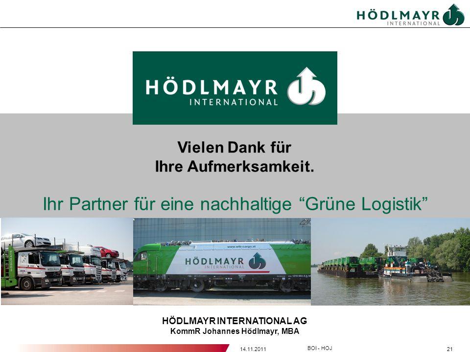 HÖDLMAYR INTERNATIONAL AG KommR Johannes Hödlmayr, MBA