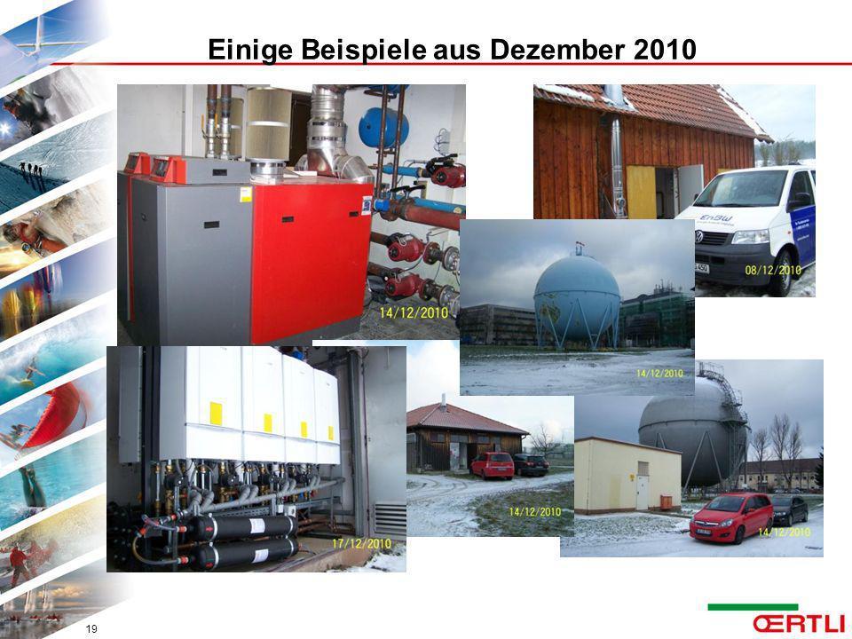 Einige Beispiele aus Dezember 2010
