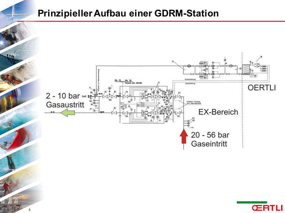 Prinzipieller Aufbau einer GDRM-Station