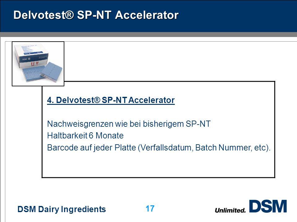 Delvotest® SP-NT Accelerator