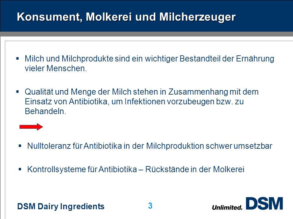 Konsument, Molkerei und Milcherzeuger