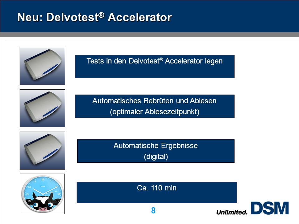 Neu: Delvotest® Accelerator
