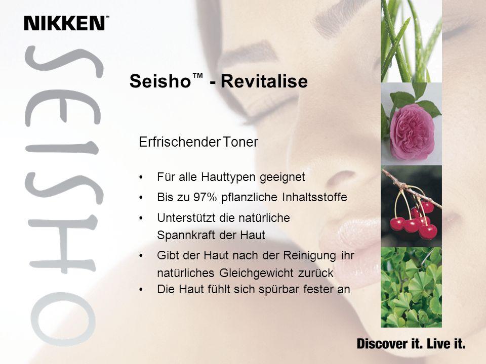 Seisho™ - Revitalise Erfrischender Toner Für alle Hauttypen geeignet