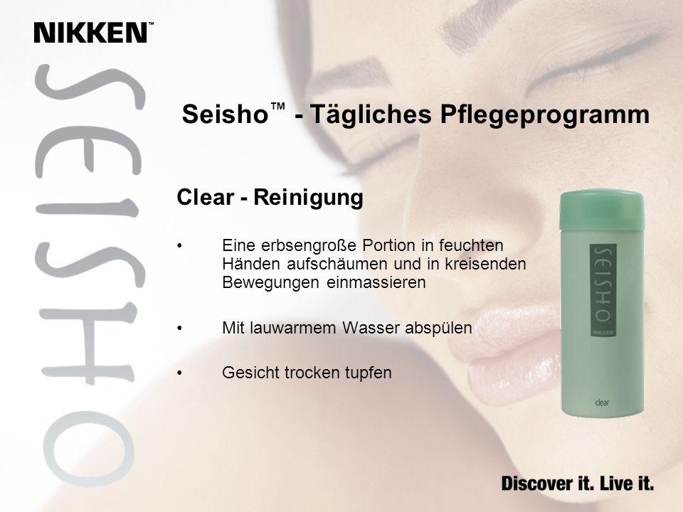 Seisho™ - Tägliches Pflegeprogramm