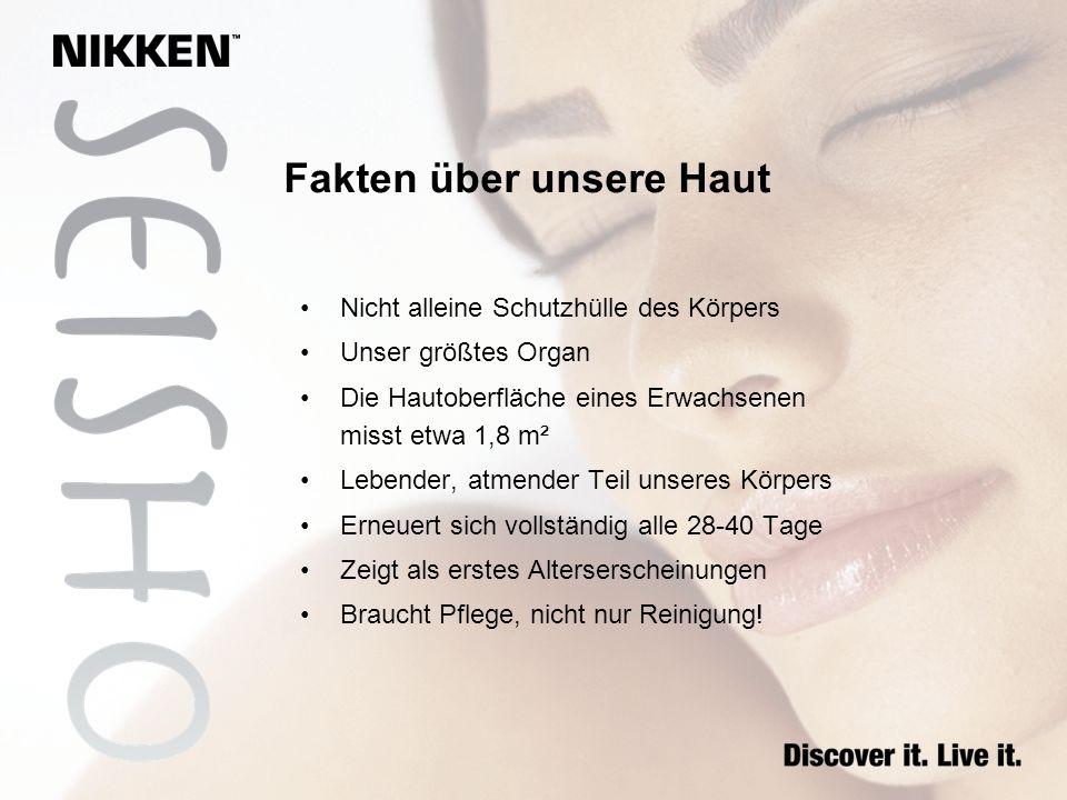 Fakten über unsere Haut
