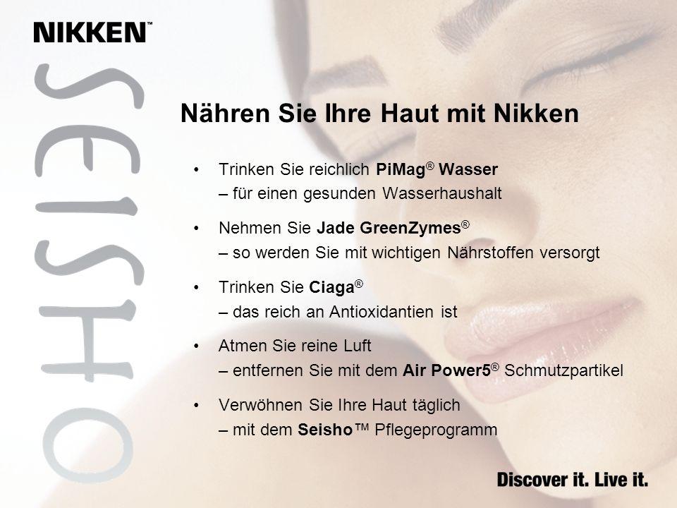 Nähren Sie Ihre Haut mit Nikken