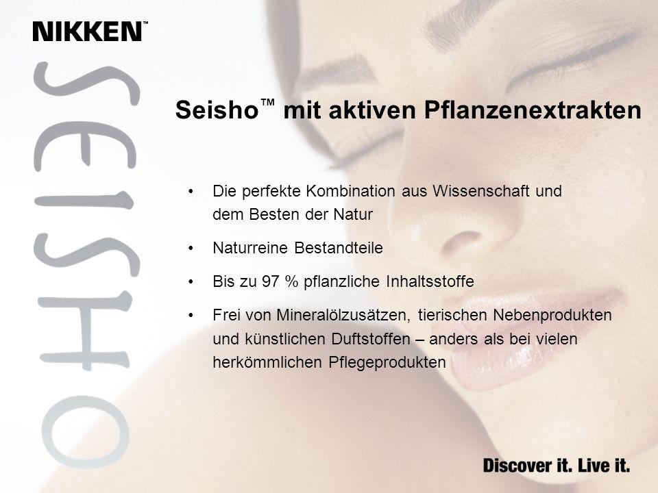 Seisho™ mit aktiven Pflanzenextrakten