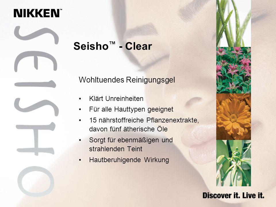 Seisho™ - Clear Wohltuendes Reinigungsgel Klärt Unreinheiten
