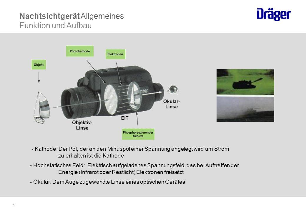 Nachtsichtgerät Allgemeines Funktion und Aufbau