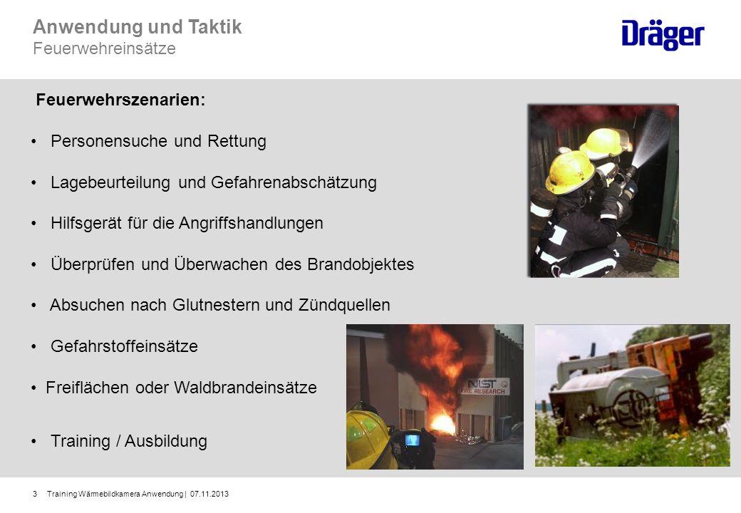 Anwendung und Taktik Feuerwehreinsätze