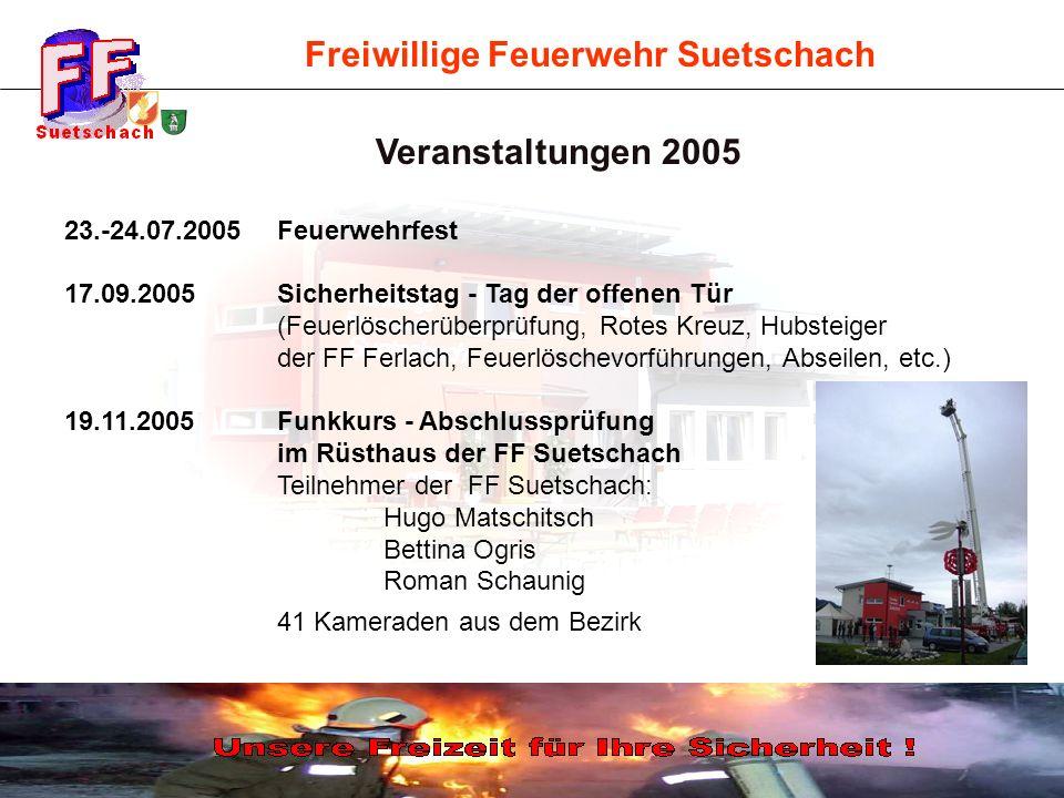 Veranstaltungen 2005 23.-24.07.2005 Feuerwehrfest