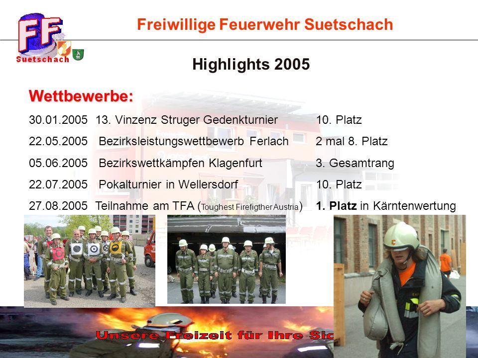Highlights 2005 Wettbewerbe: