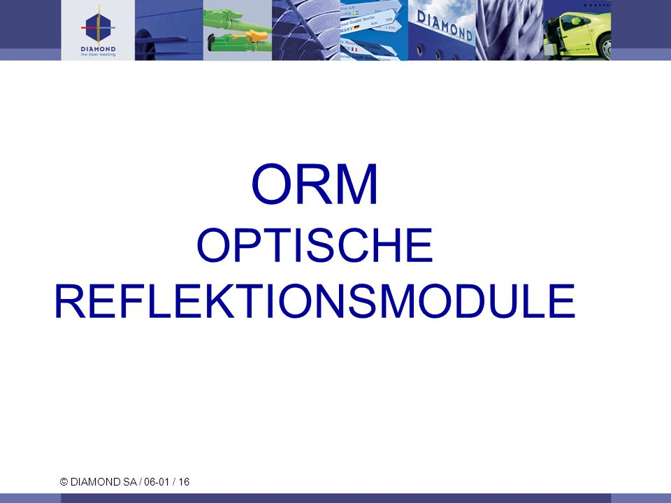 OPTISCHE REFLEKTIONSMODULE