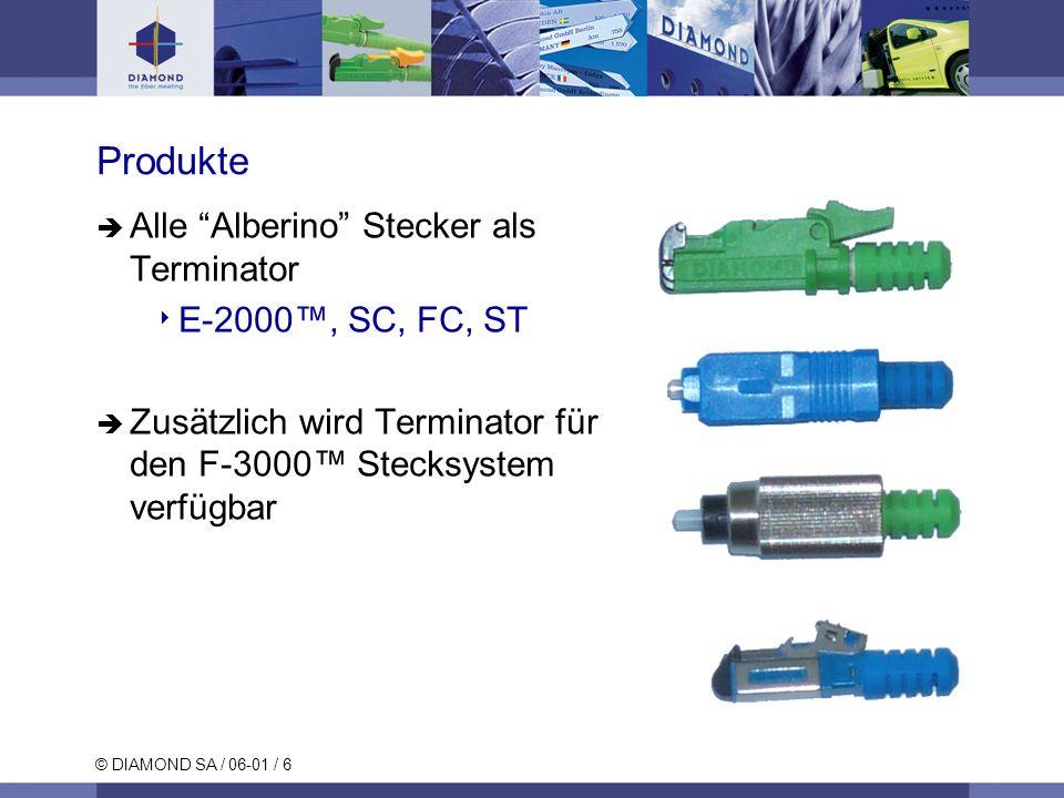 Produkte Alle Alberino Stecker als Terminator E-2000™, SC, FC, ST