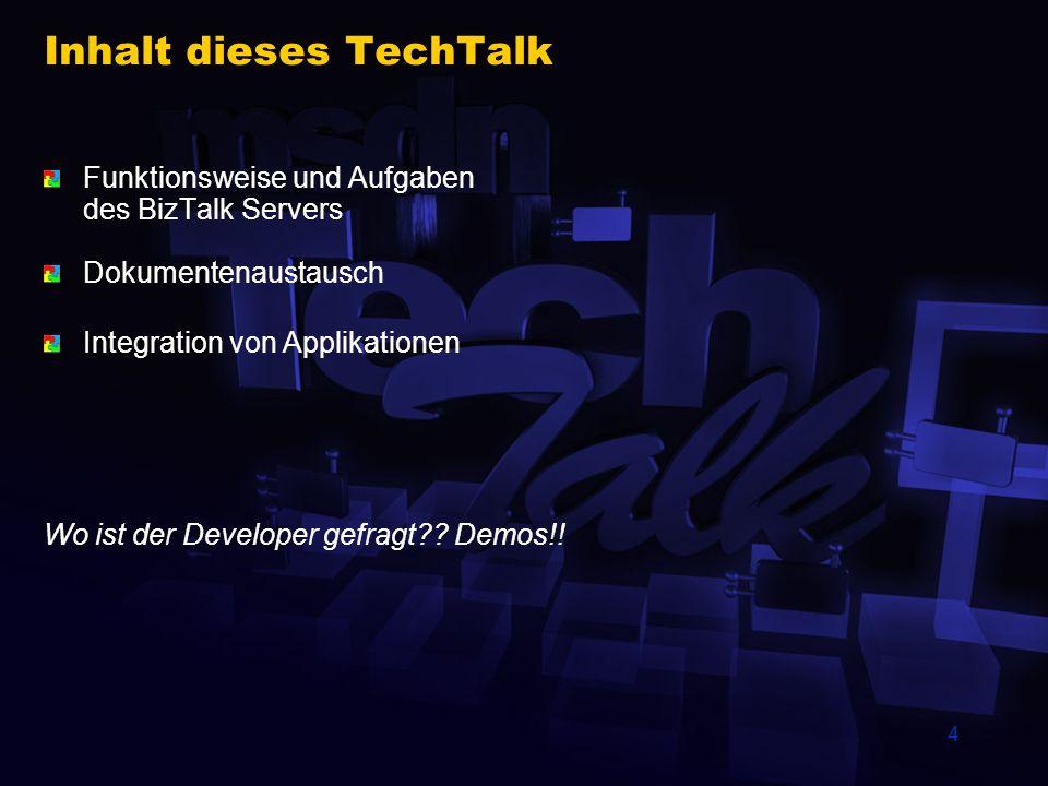 Inhalt dieses TechTalk