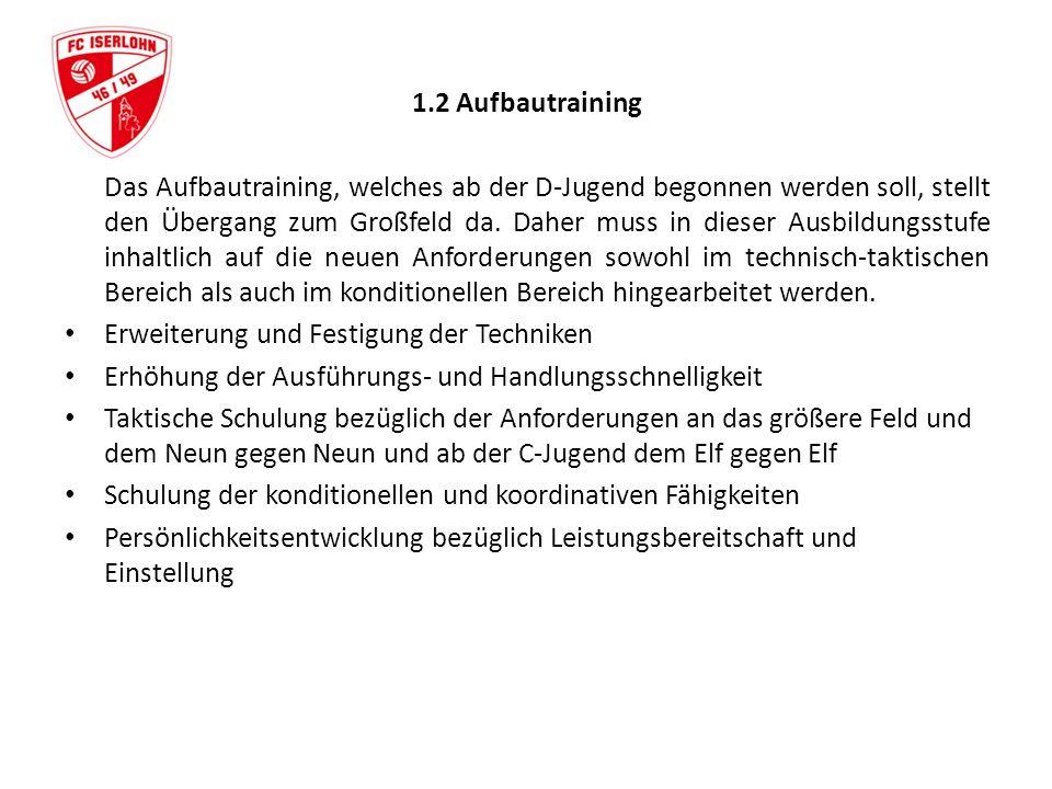1.2 Aufbautraining