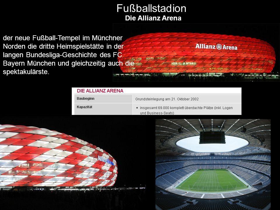 Fußballstadion Die Allianz Arena