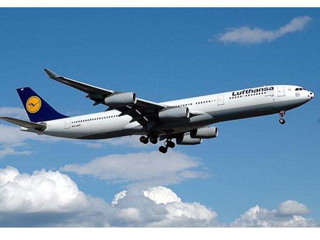 Ich liebe Flugzeuge.