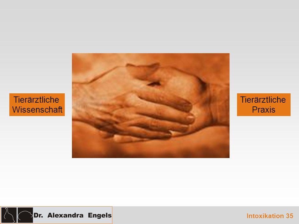 Tierärztliche Wissenschaft Tierärztliche Praxis Intoxikation 35