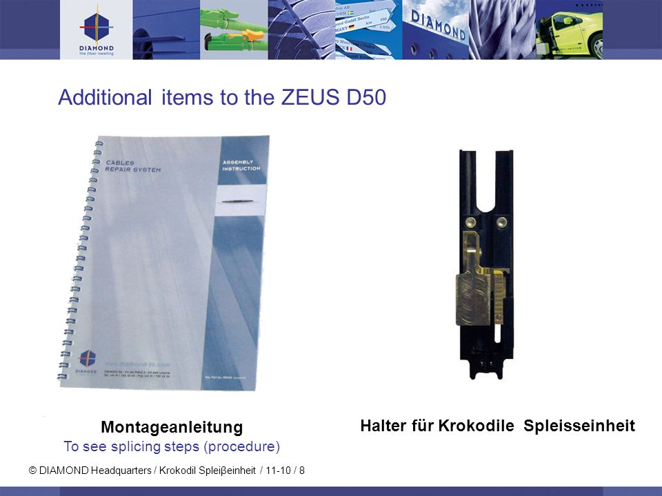 Additional items to the ZEUS D50