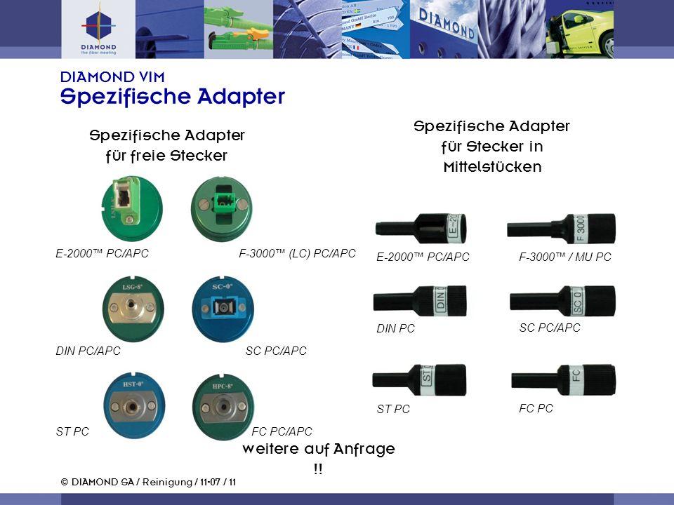 DIAMOND VIM Spezifische Adapter