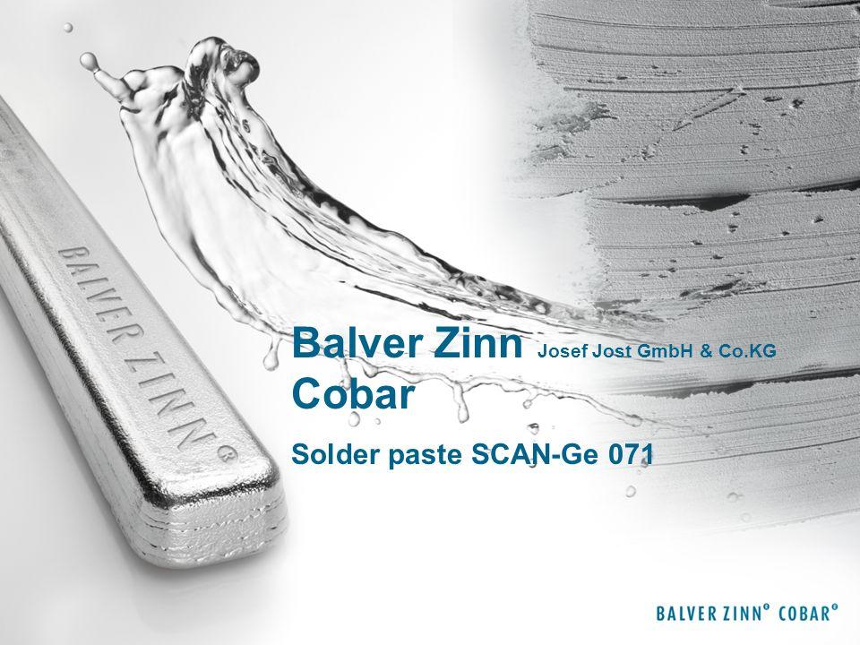 Balver Zinn Josef Jost GmbH & Co.KG Cobar