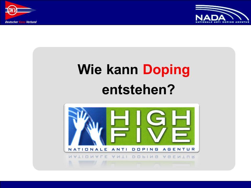 Wie kann Doping entstehen