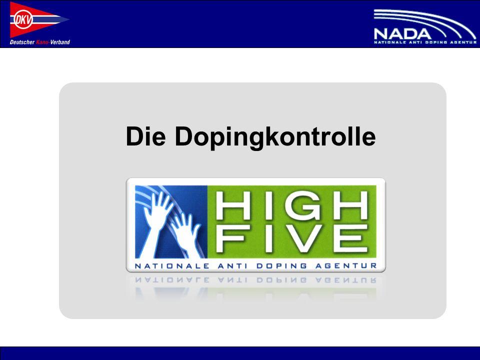 Die Dopingkontrolle