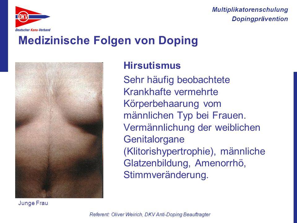 Medizinische Folgen von Doping