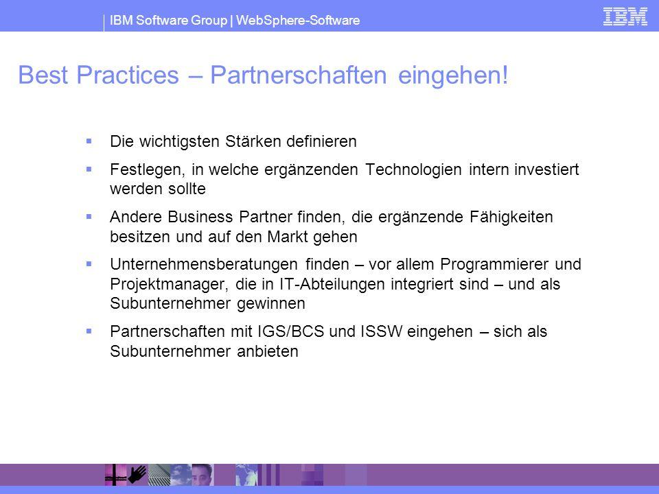 Best Practices – Partnerschaften eingehen!