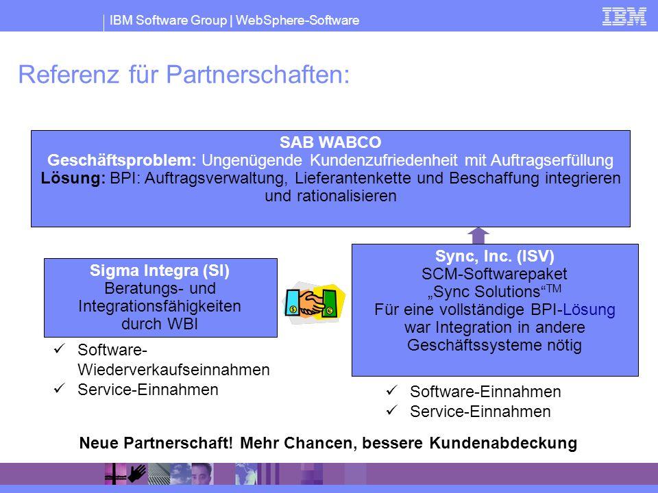 Referenz für Partnerschaften: