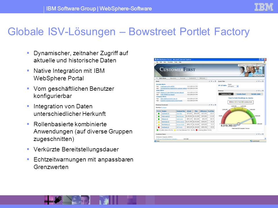 Globale ISV-Lösungen – Bowstreet Portlet Factory