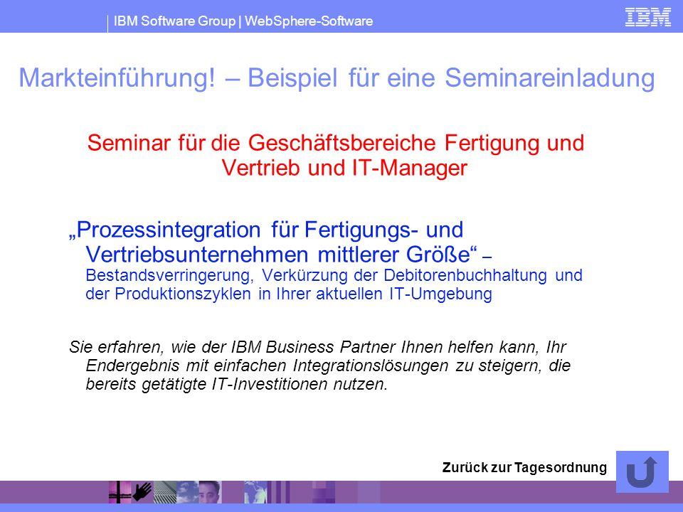 Markteinführung! – Beispiel für eine Seminareinladung