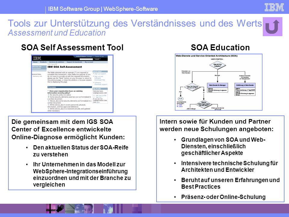 SOA Self Assessment Tool