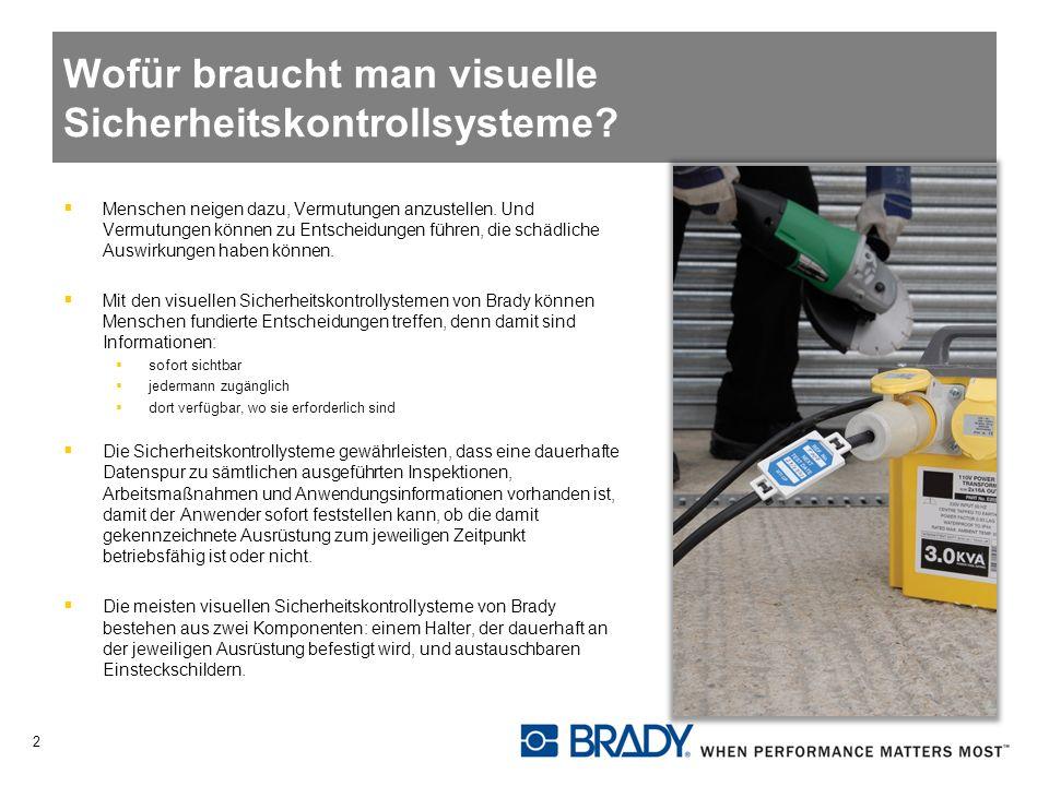 Wofür braucht man visuelle Sicherheitskontrollsysteme