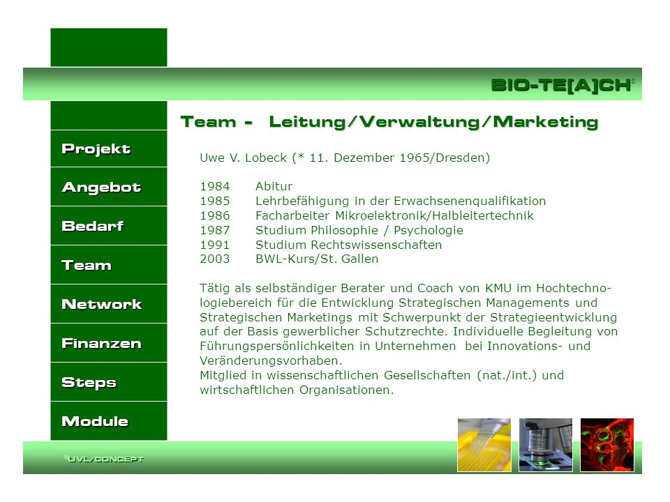 Team - Leitung/Verwaltung/Marketing