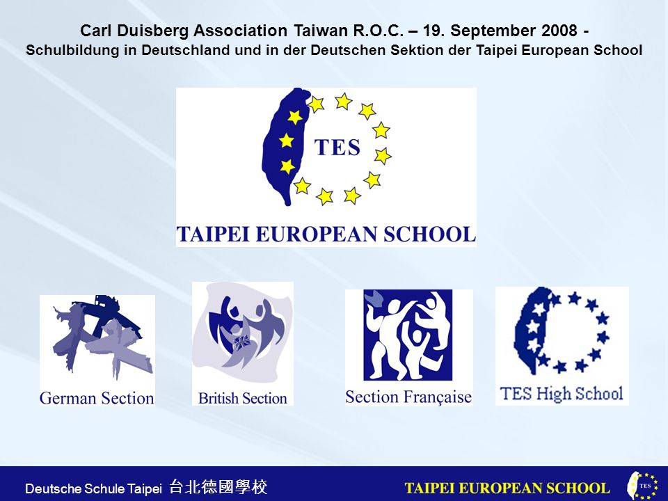 Carl Duisberg Association Taiwan R. O. C. – 19