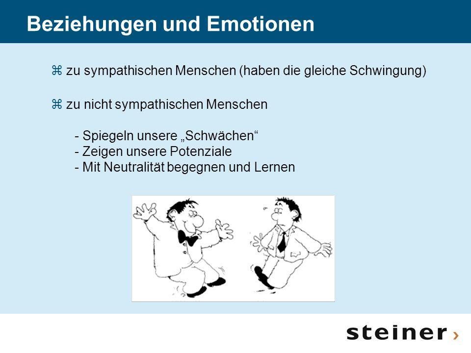 Beziehungen und Emotionen