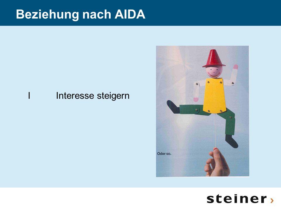 Beziehung nach AIDA I Interesse steigern