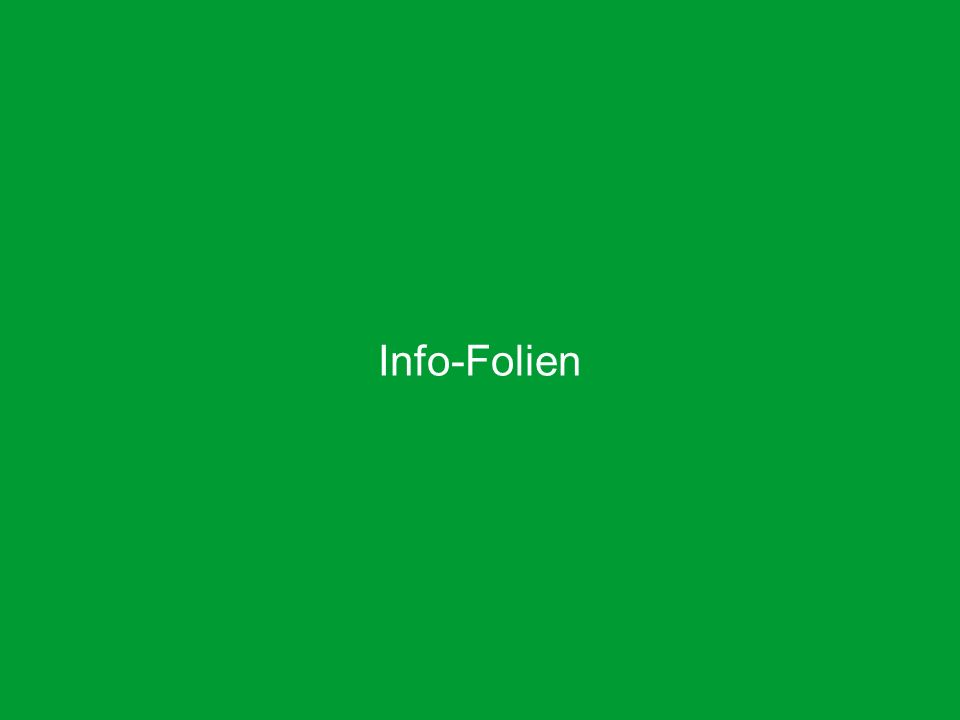 Info-Folien EGO-Highlights, Produktmanagement Leben, Oktober 2012