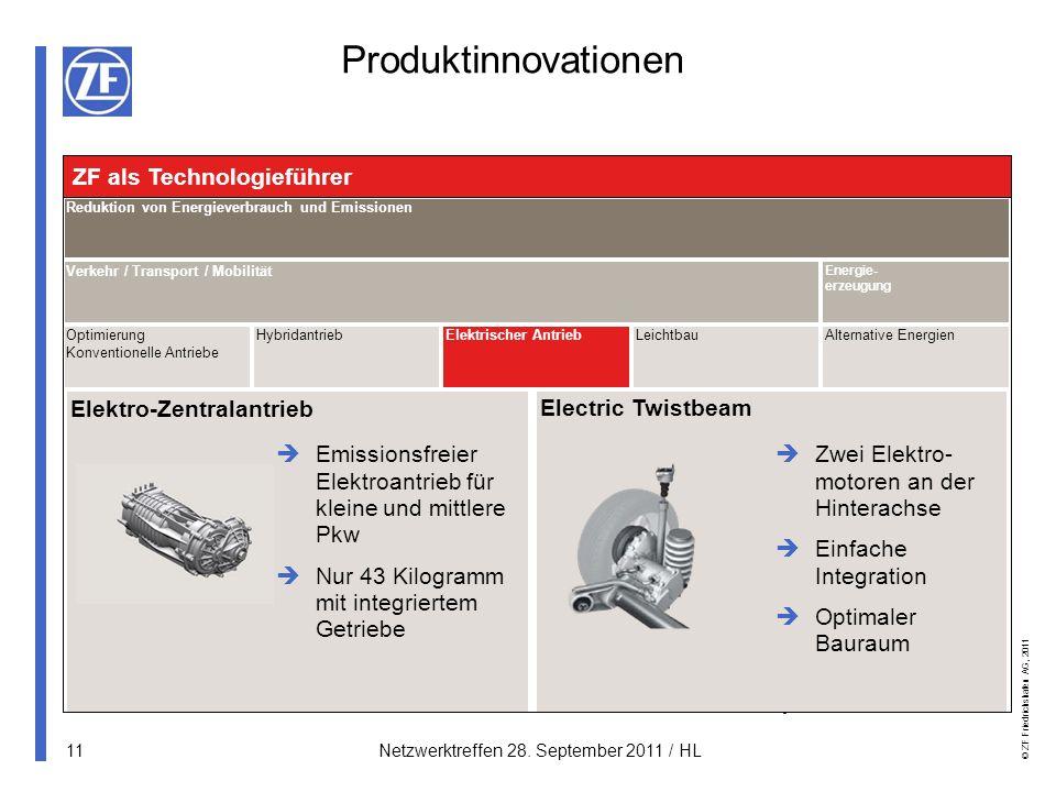 Produktinnovationen ZF als Technologieführer Elektro-Zentralantrieb