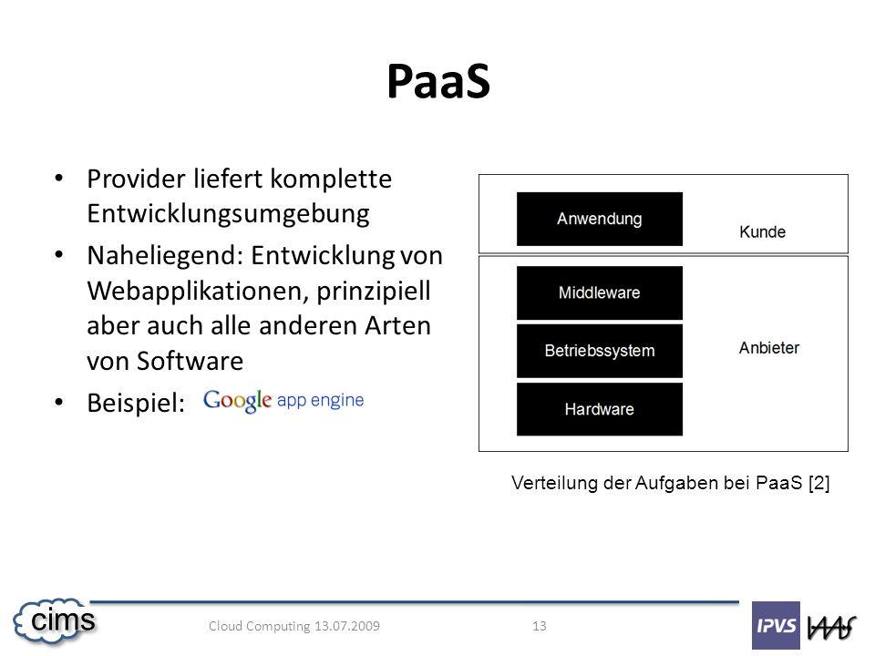 PaaS Provider liefert komplette Entwicklungsumgebung