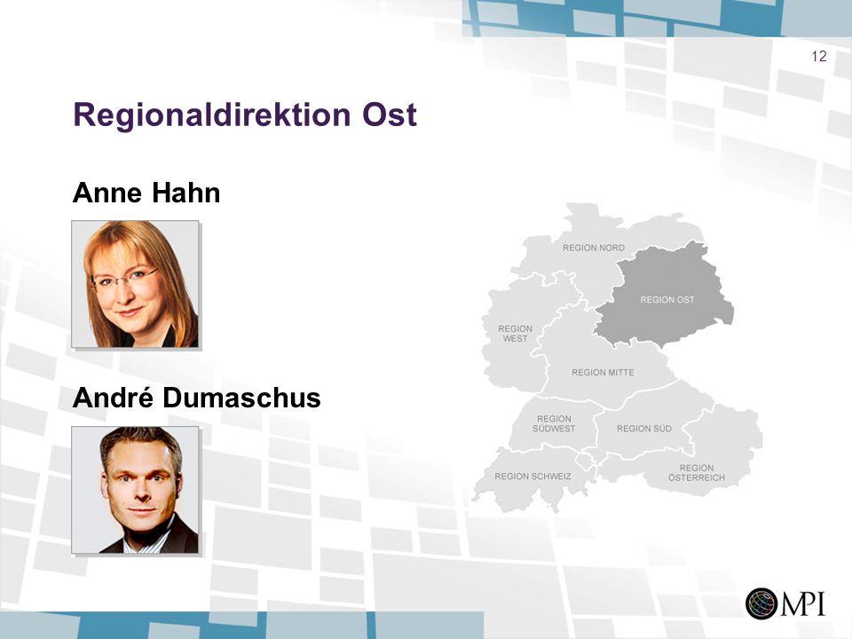 Regionaldirektion Ost