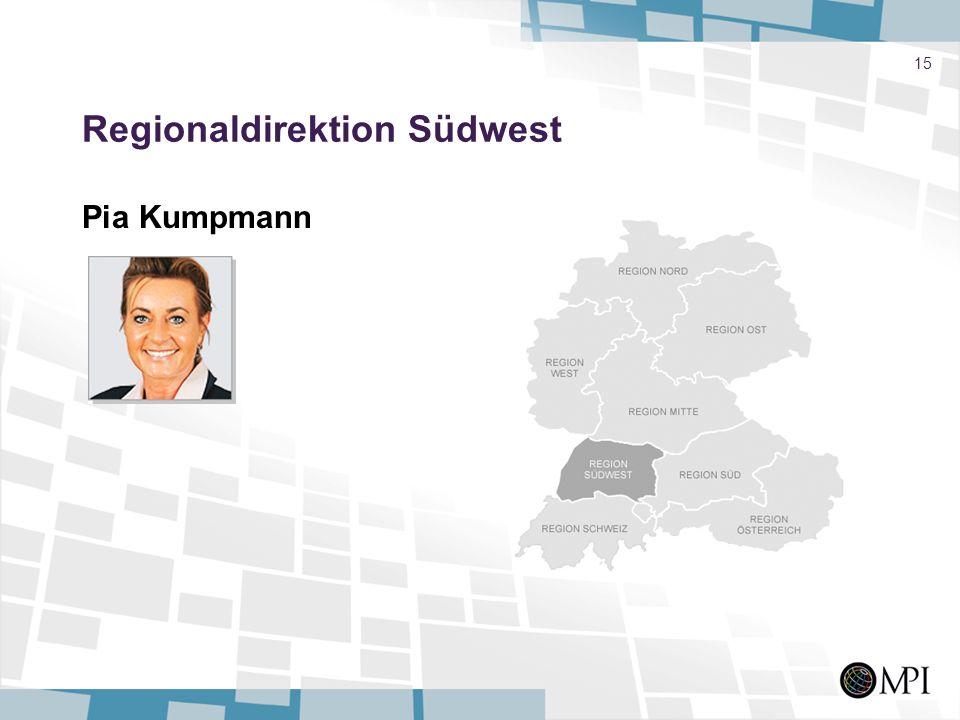 Regionaldirektion Südwest